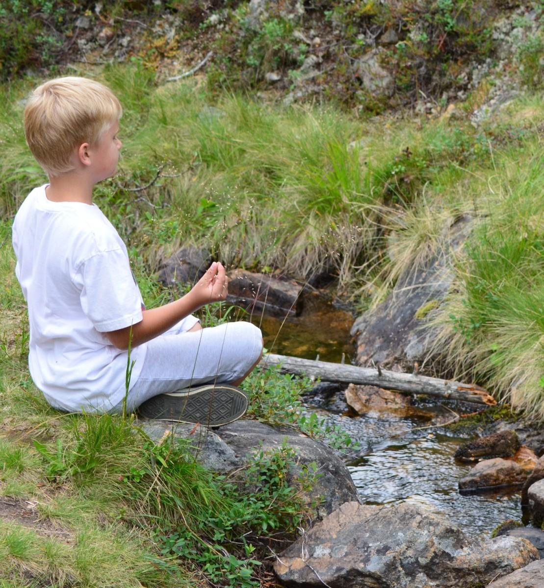 Meditaatio puron äärellä