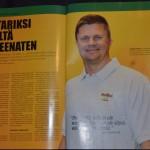 Hannu Pirilä Fight Sport -lehdessä 6/2013