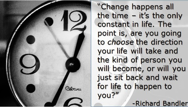 Change Happens All The Time