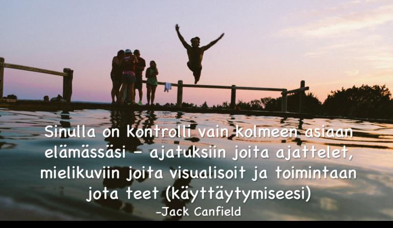 Kontrolli - Jack Canfield