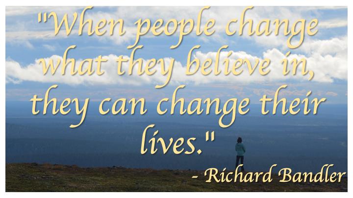 Change Beliefs - Bandler